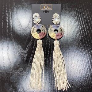 Luxury nOir earrings